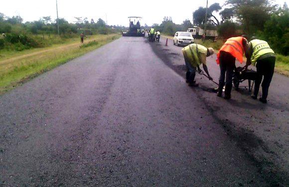 Laying Prefix on Katitu – Kendu Bay Road Project