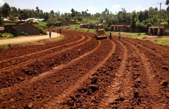 Ongoing Work at Metamaywa – Mosobeti Road Project Nyamira County
