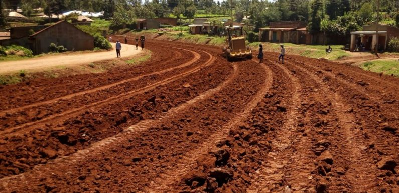 Ongoing Work at Metamaywa – Mosobeti Road Project Nyamira County